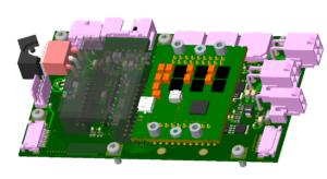 Dienstleistung kundenspezifische Elektronik Entwicklung PCB Layout Cadence Allegro 3D